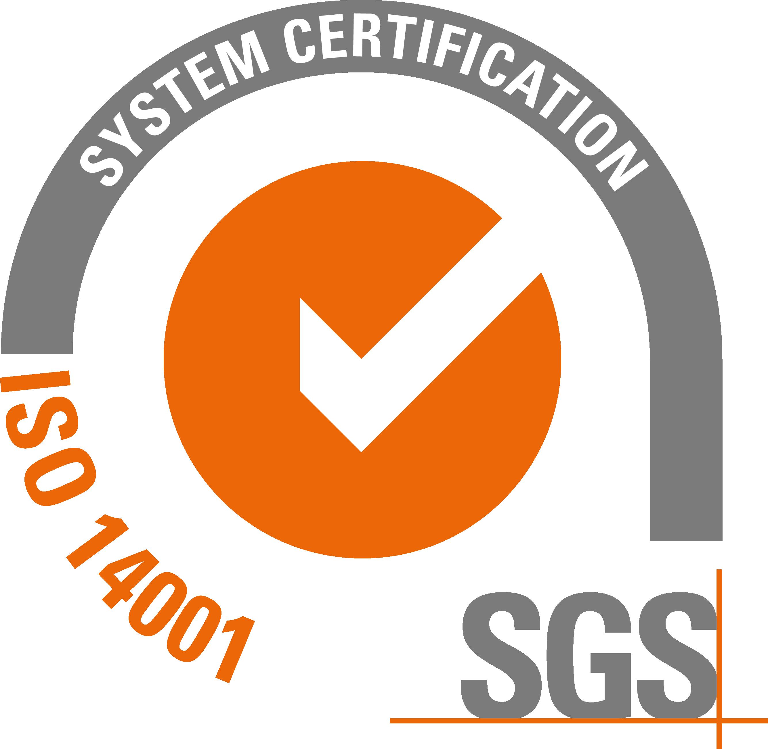 Logo ISO 14001 SGS